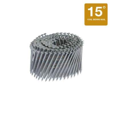 2 in. x 0.092 in. 15° Wire Ring Shank Framing Nails 1,200 per Box