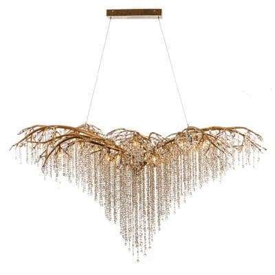 Oralee 26-Light Gold Crystal Chandelier