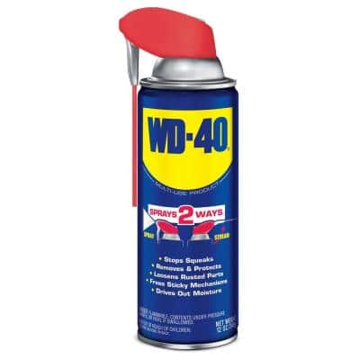 12 oz. Multi-Use Product, Multi-Purpose Lubricant Spray with Smart Straw