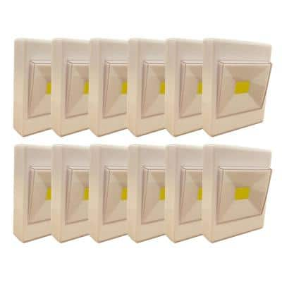 Battery Powered Touch Light in White (Pack of 12)