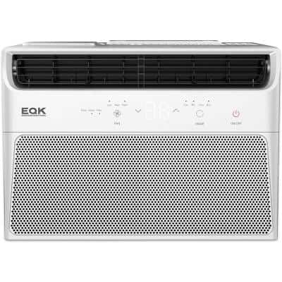 150 sq. ft. 5000 BTU Window Air Conditioner with LED display and Remote Contro in White
