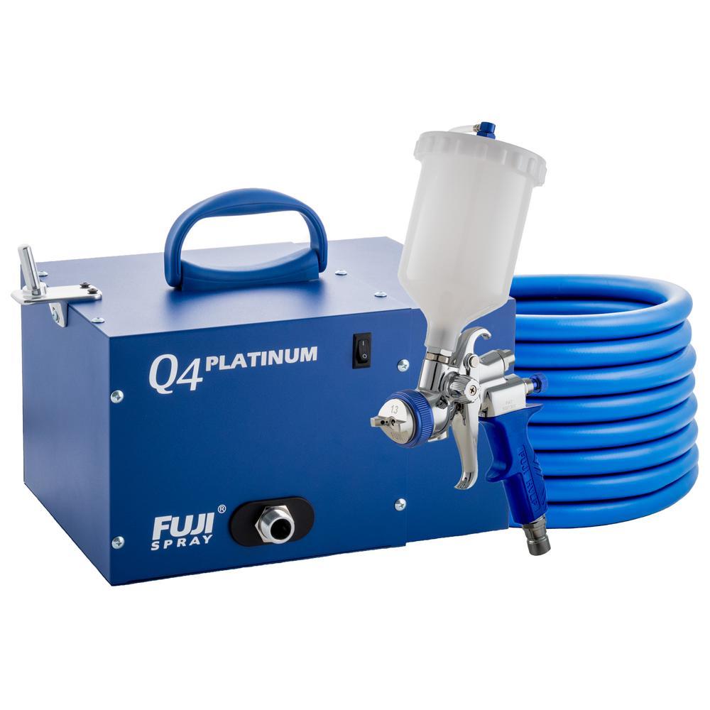 Q4 PLATINUM T75G Gravity HVLP Spray System