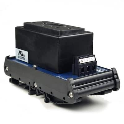 15 Amp 125-Volt Dual GFCI AC Outlet DIN Rail Mount