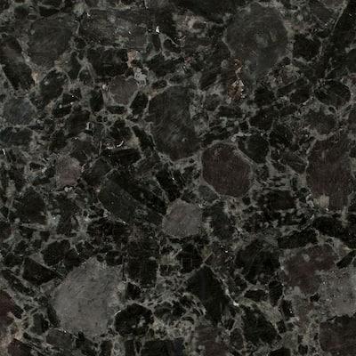 3 in. x 3 in. Granite Countertop Sample in Volga Blue