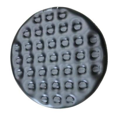 4-Person Inflatable Round Hot Tub Cover in Black