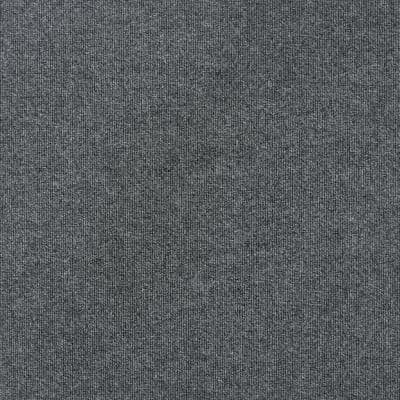 Contender Single Rib Sky Grey 24 in. x 24 in. Commercial Peel and Stick Carpet Tiles (15 Tiles/Case)
