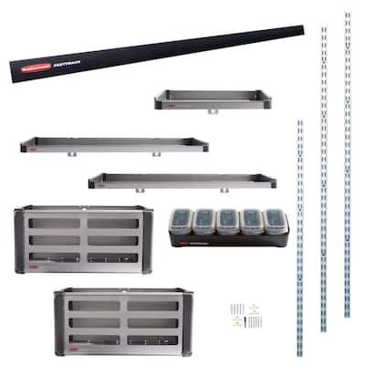 FastTrack Garage Rail Accessory Starter Kit (11-Piece)