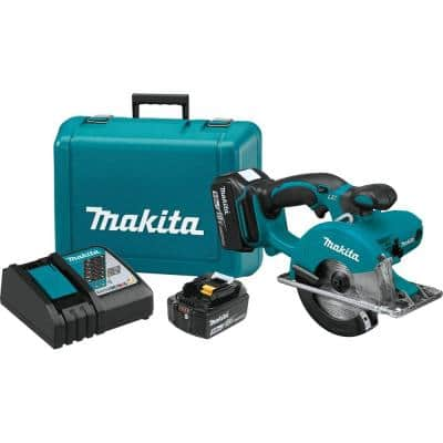 18-Volt 5.0Ah LXT Lithium-Ion Cordless 5-3/8 in. Metal Cutting Saw Kit