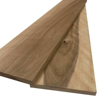 1 in. x 8 in. x 8 ft. Birch S4S Board (2-Pack)