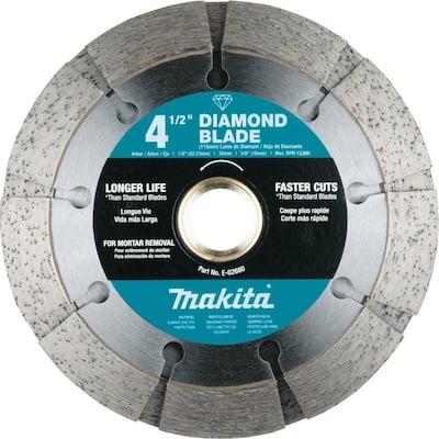 4-1/2 in. Dual Sandwich Diamond Tuck Point Blade