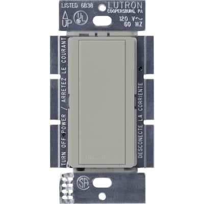 Maestro 8-Amp Multi-Location Companion Switch - Gray