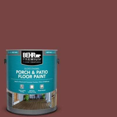 1 gal. #S130-7 Cherry Cola Gloss Enamel Interior/Exterior Porch and Patio Floor Paint