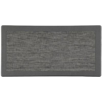 Piermont Gray 20 in. x 39 in. Anti-Fatigue Kitchen Mat