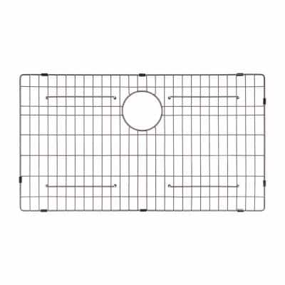 KBG-200-36 Stainless Steel Bottom Grid for KHF200-36 Single Bowl 36 Farmhouse Kitchen Sink, 32 11/16 x 15 11/16 x 1 3/8