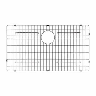 KBG-200-36 Stainless Steel Bottom Grid for KHF200-36 Single Bowl 36 Farmhouse Kitchen Sink, 32 11/16 x 15 11/16 x 1 3/8