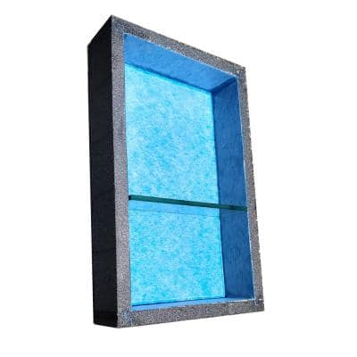 12 in. x 20 in. Niche with Adjustable Glass Shelf