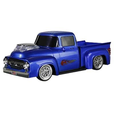 Retro Ford Truck Portable Bluetooth Speaker (Blue)