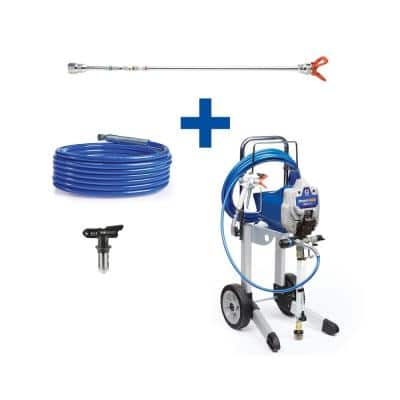 Magnum ProX17 Cart Airless Paint Sprayer with 20 in. Extension, 50 ft. Hose and TRU517 Tip