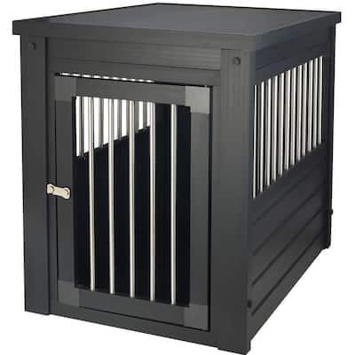 ECOFLEX Dog Crate - Espresso Medium