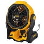 20-Volt MAX Cordless and Corded 11 in. Jobsite Fan (Tool-Only)
