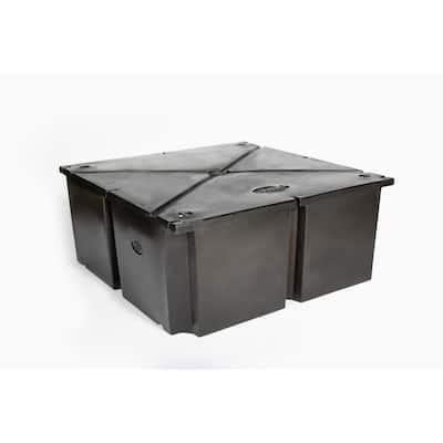 48 in. x 48 in. x 20 in. Dock System Float Drum