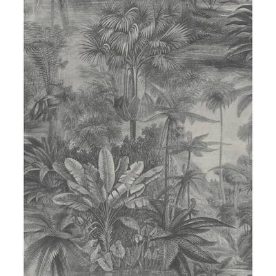 Anamudi Stone Tropical Canopy Wallpaper Sample
