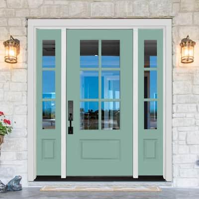 Legacy Collection Customizable Fiberglass Front Door