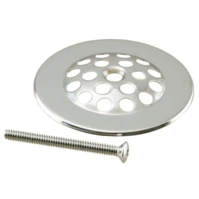 Brass Beehive Grid Strainer in Polished Nickel