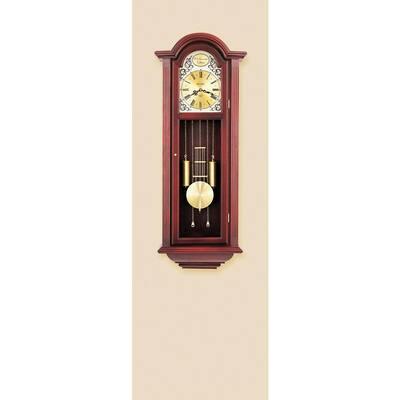 38.5 in. x 15 in. Pendulum Wall Chime Clock