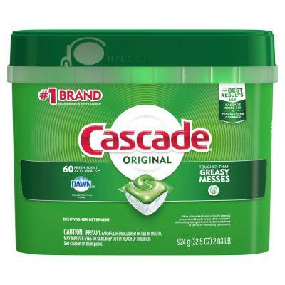 ActionPacs Fresh Scent Dishwasher Detergent with Dawn (60-Count)