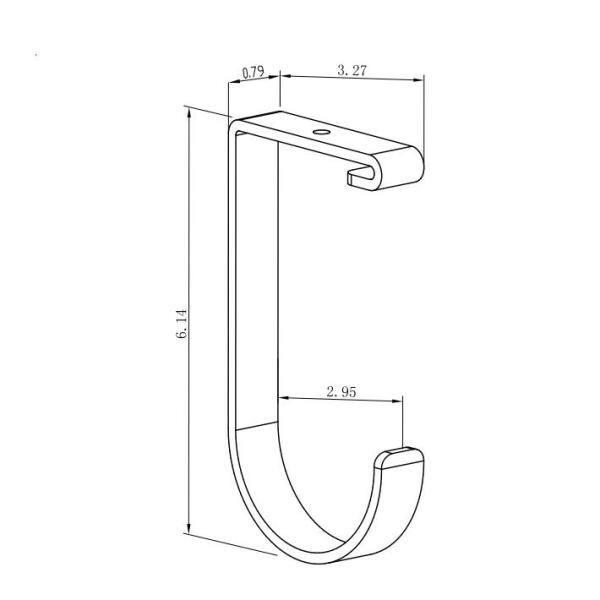 Fleximounts White Steel Overhead Garage, Overhead Garage Storage Rack Hooks