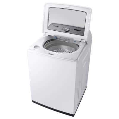 5.4 cu. ft. White Top Load Washing Machine with Active WaterJet, ENERGY STAR