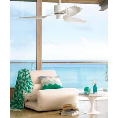 Climate II White 50 in. DC Ceiling Fan