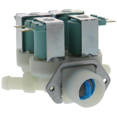 Blue Washing Machine Water Valve