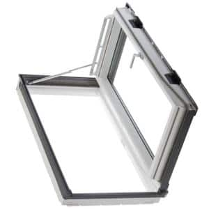 22-1/8 in. x 46-7/8 in. Venting Roof Access Window with Laminated Low-E3 Glass