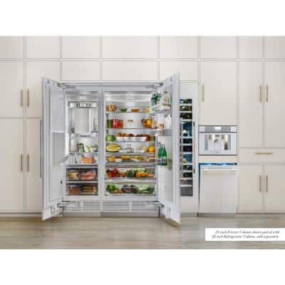 Freedom 36 in. 20.6 cu. ft. Built-In Column Refrigerator in Panel-Ready