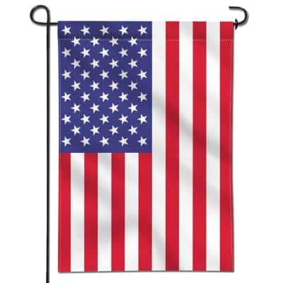 18 in. x 12.5 in. USA United States Decorative Garden Flags - Double Sided