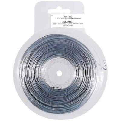 250 ft. 17-Gauge Galvanized Steel Wire