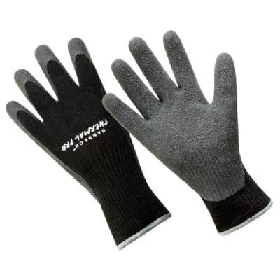 Thermal Pro Premium Lined Grey Latex Coated Glove