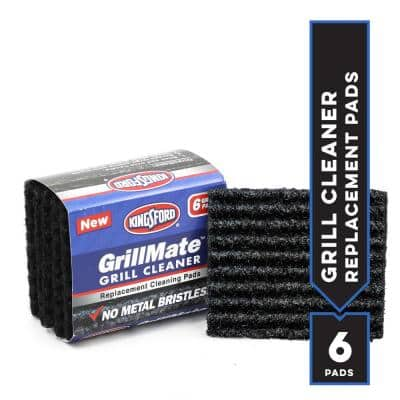 GrillMate Refill Pads 6-Count Bristle Free Replacement Pads