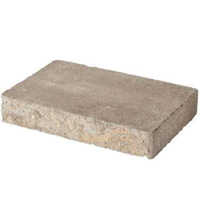 8 in. L x 11.87 in. W x 2 in. H Carolina Blend Concrete Retaining Wall Cap (120-Piece/119 sq. ft./Pallet)