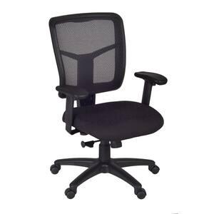 Frock Black Swivel Chair