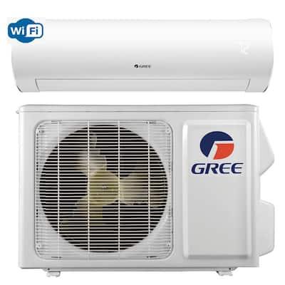 Sapphire 18000 BTU 1.5-Ton Ductless Mini Split Air Conditioner with Inverter Heat Remote 208-Volt to 230-Volt/60Hz
