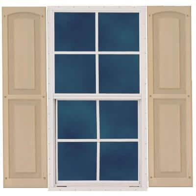 18 in. x 27 in. Window with Shutters