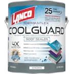 1 Gal. Coolguard 100% Acrylic Urethane Elastomeric Reflective Roof Coating with Dramatic Temperature Reduction