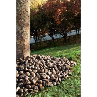 Black Polished 0.5 cu. ft. per Bag (0.25-0.5 in.) Bagged Landscape Rock 40 lb. Bag