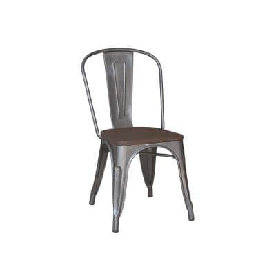 Gunmetal Dining Chair (Set of 2)
