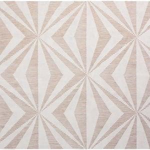 Precision Diamond Geo Rose Gold Wallpaper