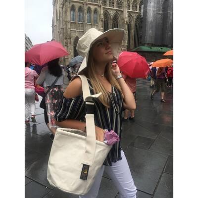 Canvas Sun and Rain Hat