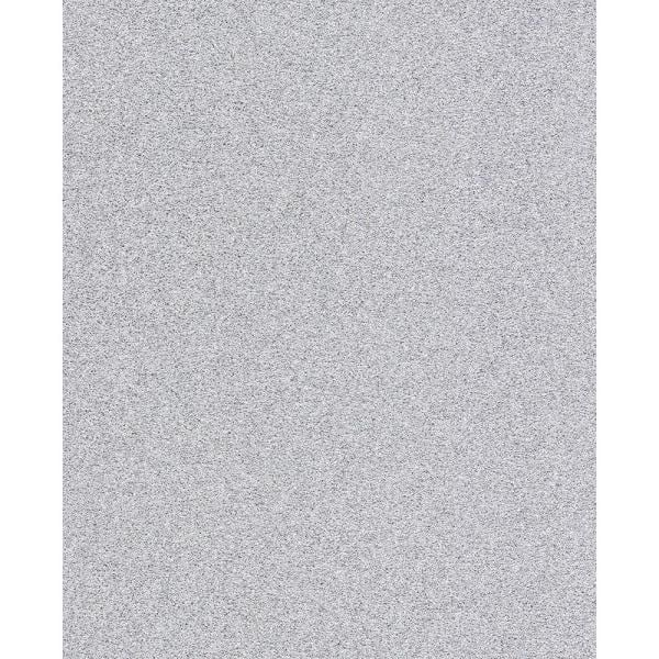 Advantage Sparkle Silver Glitter Paper Strippable Roll Covers 56 4 Sq Ft 2812 41587 The Home Depot